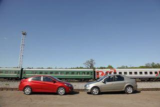 Hyundai Solaris, Renault Logan, источник: Авторейтинг