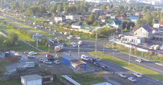 Массовое ДТП на Черноисточинском шоссе Нижнего Тагила