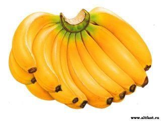 В Америке созданы генномодифицированные бананы для африканских детей