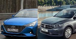 Volkswagen Polo против Hyundai Solaris: Седаны 2020 года сравнил блогер