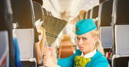 Стюардесса назвала самые грязные места в самолётах