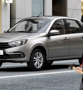 «ВАЗ нелечит, акалечит»: Повреждения LADA Granta наофициальном ТОвозмутили автомобилистов