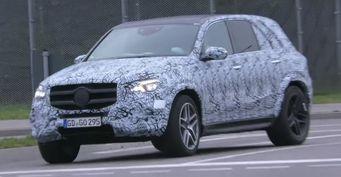 Тестовый Mercedes-Benz GLE отправился на дороги общего пользования