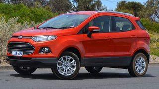 На дорогах России заметили новый Ford EcoSport