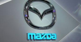 Новый седан Mazda RX-9 с роторным мотором засняли на тестах