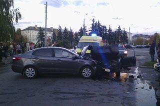 В Дзержинске пострадало 4 человека в ДТП, виновник которого пьяный водитель