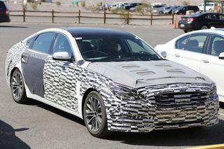 В сети появились первые фото нового Hyundai Genesis Coupe