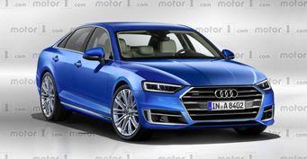 Опубликованы первые рендеры седана Audi A8