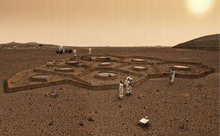 Комиссия определила лучший дизайн для дома на Марсе