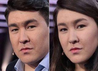 Сравнение Азамата Мусагалиева сего женским прообразом / Фото: pokatim.ru