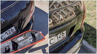 Фото: Проклейка сабли на LAD AGranta Cross - процесс и результат, источник: Drive2.ru
