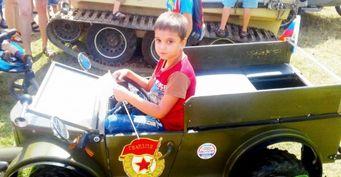 В Калуге представили единственный в мире детский ГАЗ-69