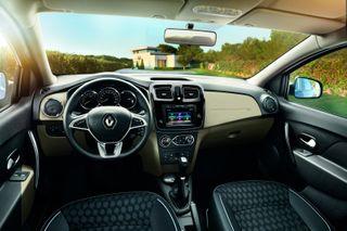 Фото: салон Renault Logan III, источник: Renault
