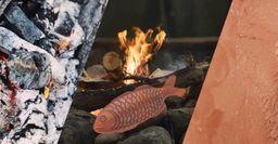 Рецептом рыбы «по-походному» в глине, поделились рыбаки