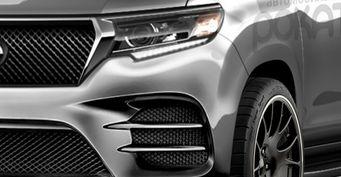 Если бы немцы делали «Крузаки»: Как выглядит Toyota Land Cruiser Prado с обвесом AMG