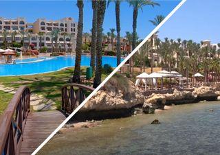 Пляжи и отеля Египта в отличном состоянии и почти без туристов. Кадры: YouTube-канал «Travel24»