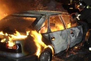 В Звездном пьяный водитель сгорел вместе с автомобилем