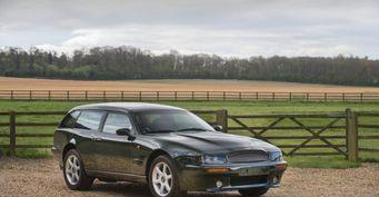На аукционе продадут купеобразный универсал Aston Martin V8 Sportsman