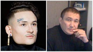 Фото: Моргенштерн (слева) иотец Алишера— Тагир Фагимович Валеев. Источник: «Покатим!»
