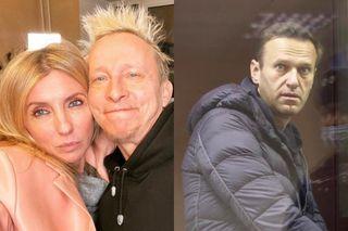 Светлана Бондарчук, Иван Охлобыстин иАлексей Навальный. Коллаж: www.instagram.com, www.dw.com