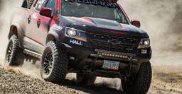 Пикап Chevrolet Colorado ZR2 готов к соревнованиям внедорожников