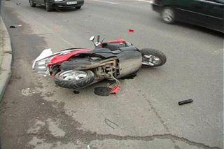 В Усть-Катаве сотрудница полиции на легковушке сбила мотоциклиста