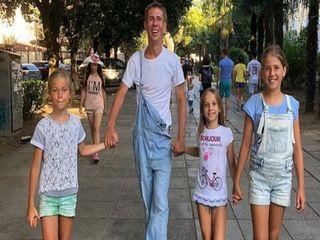 ВАлексей Панин с детьми: Фото: blitz.plus