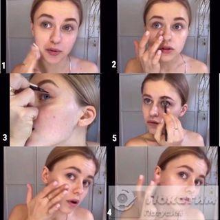 Пошаговая техника от блогера Дарьи. Скриншоты: pokatim.ru