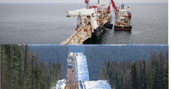 Россия выиграла от«заморозки» «Северного потока-2»