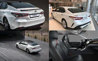 Фото: экстерьер и интерьер Toyota Camry S Edition, источник: Toyota
