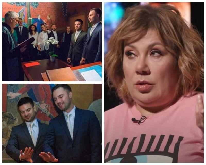 Марина Федункив подтвердила гей-свадьбу участника Сomedy Woman Бороденко