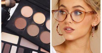 Оправа меняет все или тонкости макияжа в очках