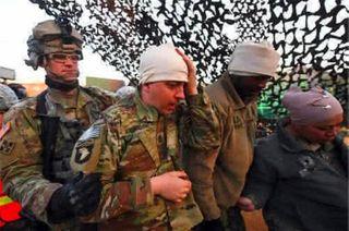 Фото: 4 военных США получили травмы после столкновения с танком России, Sohu