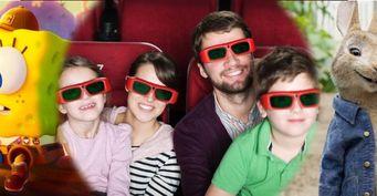 От «Губки Боба» до «Кролика Питера»: 3 премьеры лета, которые понравятся детям и родителям