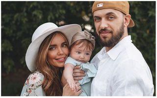 Рэпер ST с женой Ассоль Васильевой и дочерью