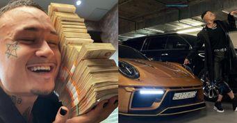 Моргенштерн купил Porsche 911 за8 миллионов рублей