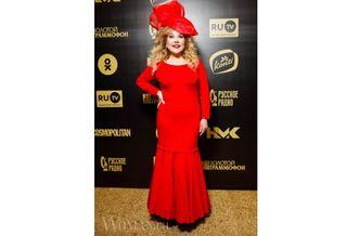 Марина Федункив на церемонии «Золотой граммофон 2020», провальное платьеФото: Women.ru