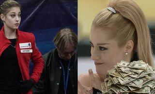 Плющенко оплатил Косторной лучшего хореографа, а она провалилась и ушла. Коллаж автора «Покатим»