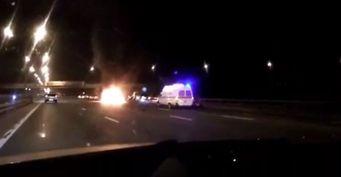 На Минском шоссе под Москвой произошла массовая авария