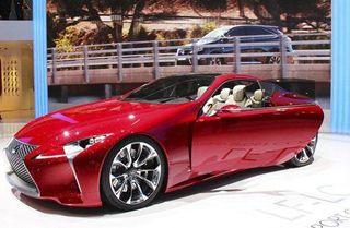 В 2017 году выйдет третье поколение «Lexus SC» в обличии концепта «LF-LC»