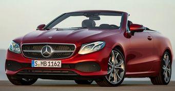 Кабриолет Mercedes-Benz E-Class нового поколения представят в марте