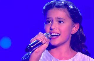 Фрагмент выступления Софии на «Детском Евровидении»