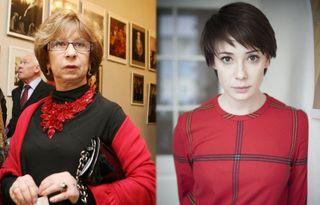 Лия Ахеджакова и Чулпан Хаматова. Источник изображений: Instagram