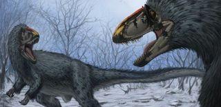 Ученые: забайкальские динозавры были покрыты перьями и чешуей