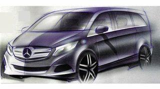 Mercedes-Benz объявил цены на новый V-Class в России