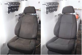Очистка сидений «ГАЗели» удивляет. Кадры: YouTube-канал Garage54 Detail