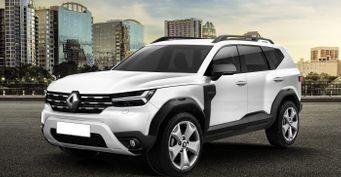 Встиле Dacia Bigster: Renault Duster 2023 представлен нарендерах