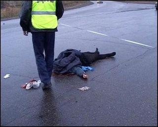 В Гатчинском районе легковая машина сбила пешехода