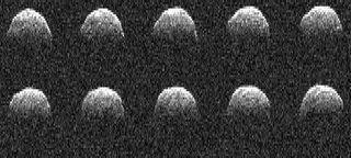 На астероиде 1999RQ36 обнаружена инородная пирамида