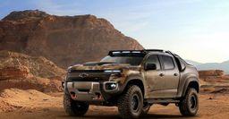 Концепт водородного пикапа Chevrolet Colorado ZH2 официально презентован